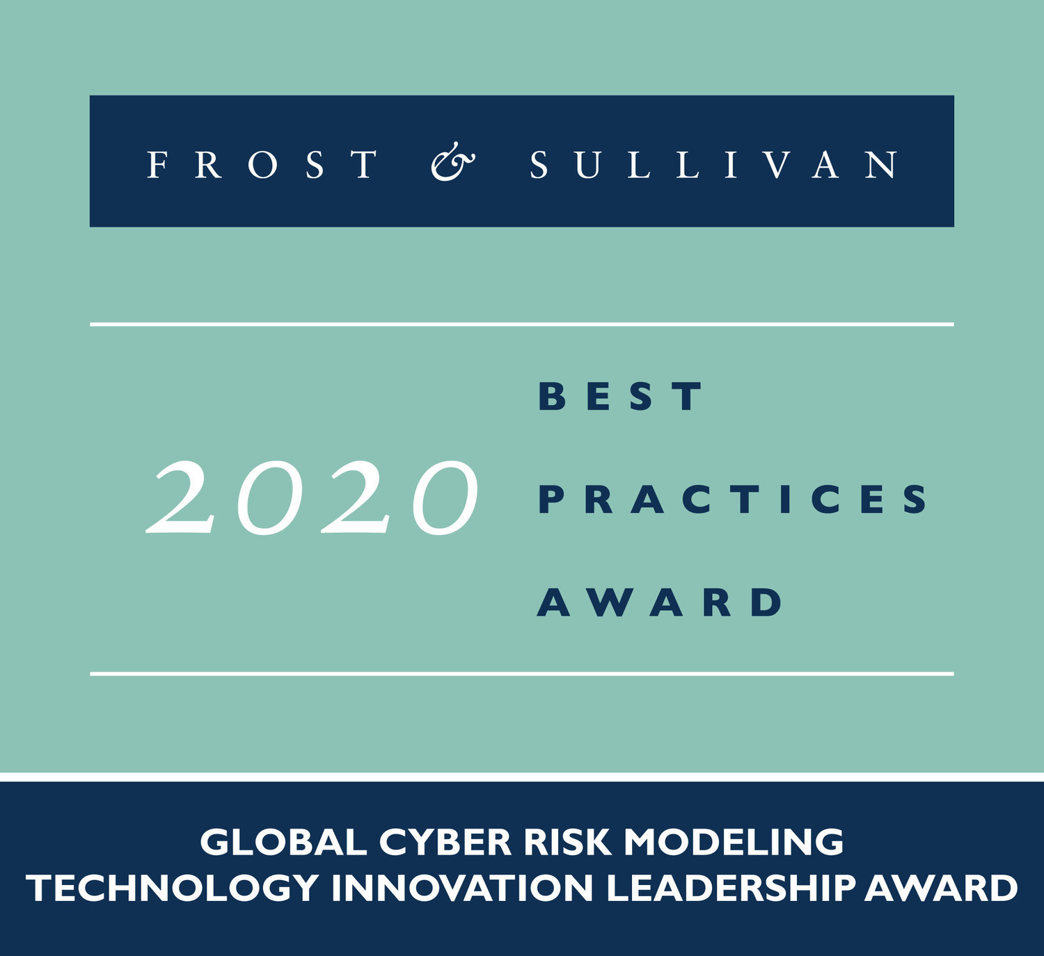 Cyberwrite Awarded Most Innovative Cyber Risk Modeling Technology Firm by Frost & Sullivan.